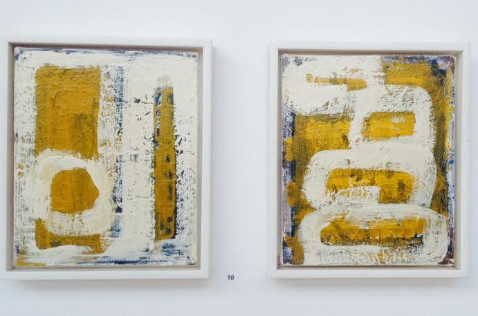 Abstract in Ochre (i and ii)