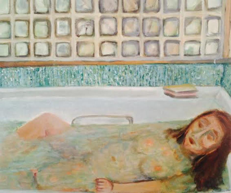 Afternoon bath