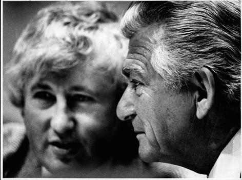 Bill Kelty & Bob Hawke