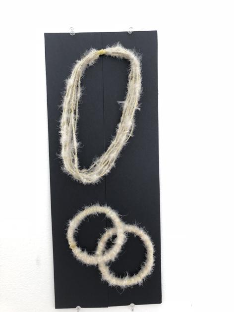 17. Feathered Headband by Margaret Djaarbalabal Malibirr