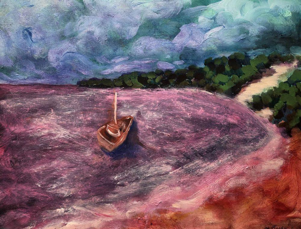 Strange Boat - SOLD