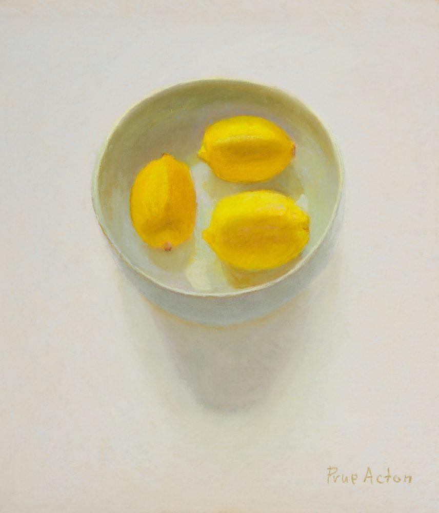 8. Lemons, Blue Bowl