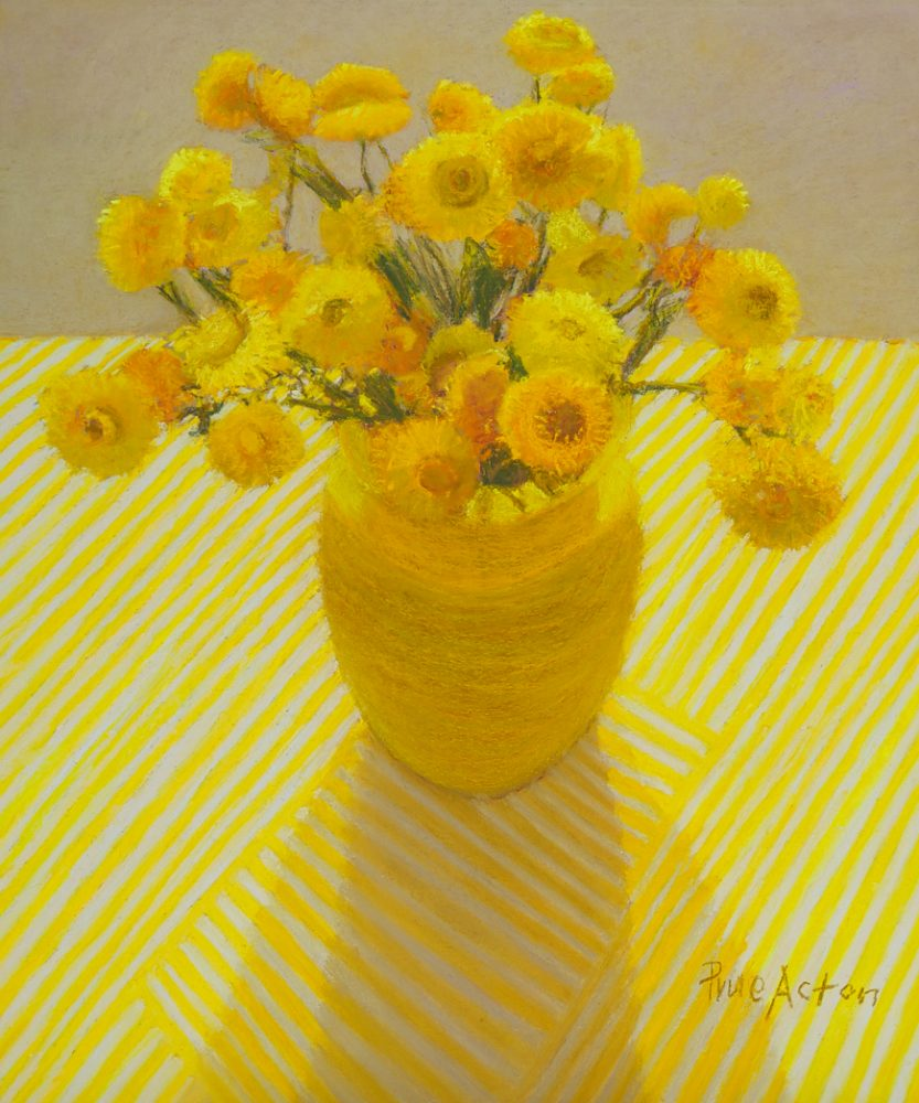 13. Paper Daisy ii, Yellow